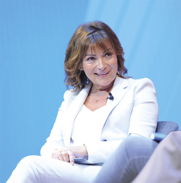 Lorraine Kelly (Credit: RTS/ Richard Kendal)