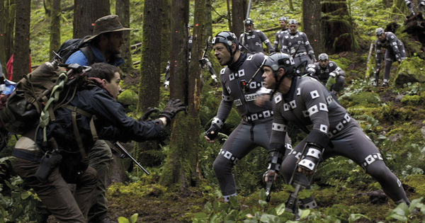 IBC keynote speaker Andy Serkis performing in Dawn of the Planet of the Apes (Credit: 20th Century Fox)