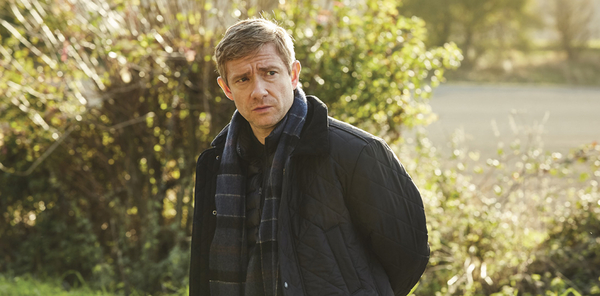 Martin Freeman in A Confession (Credit: ITV)