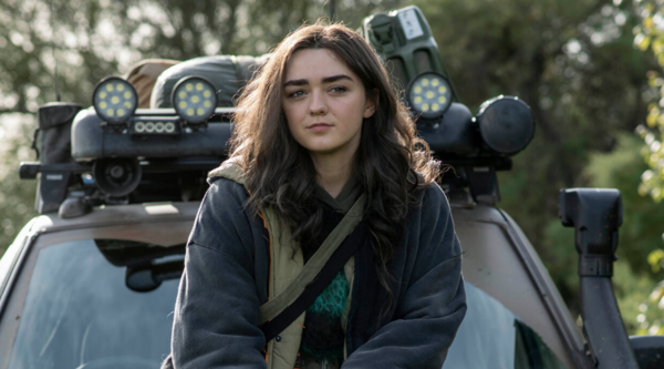 Kim Stokes (Maisie Williams) in Two Weeks to Live (Credit: Sky/Nick Wall)