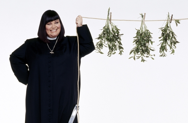 Dawn French in The Vicar of Dibley (Credit: UKTV/Gold/BBC Worldwide)