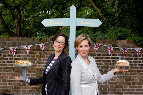 Sue Perkins and Mel Giedroyc (Credit: UKTV/Love Productions/BBC Worldwide)
