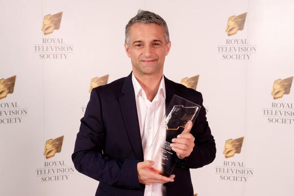 RTS Award Winner David Nath (Credit: Jon Craig/@JonCraig_Photos)