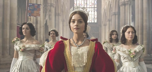 Jenna Coleman starring as Victoria (Credit: ITV)