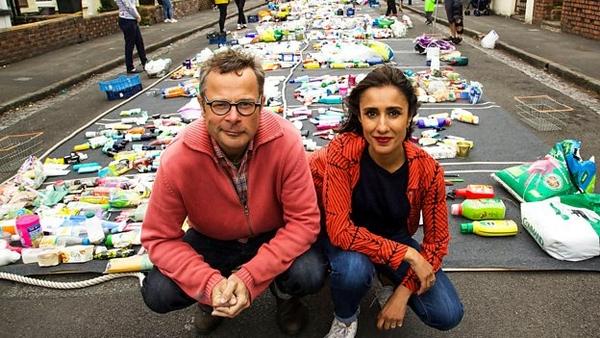 Hugh Fearnley-Whittingstall and Anita Rani (credit: BBC)