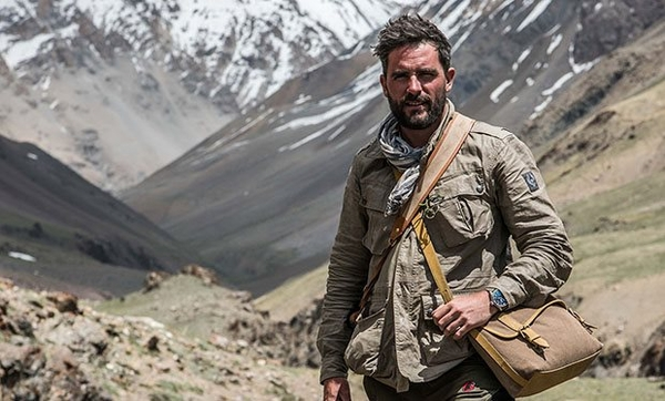 Levison Wood in the Himalayas (Credit: Channel 4)