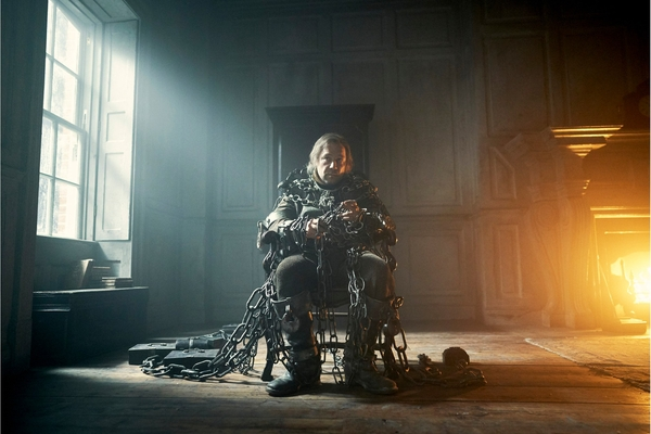 Stephen Graham as Jacob Marley in A Christmas Carol (credit: BBC)