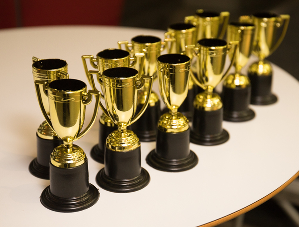 Trophies (Credit: RTS/Paul Hampartsoumian)