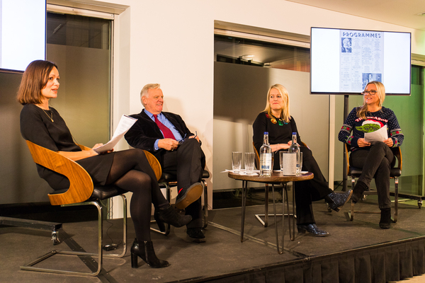 Anita Singh, Lord Grade, Kate Phillips, Kate Russell (Credit: Paul Hampartsoumian)