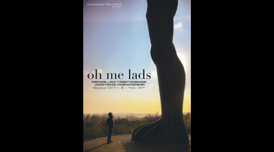 The winner of the Factual Award: Oh Me Lads