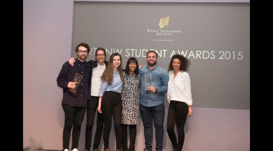 Ranvir Singh, Good Morning Britain, ITV, GMB, television, RTS North West Student Awards 2015,