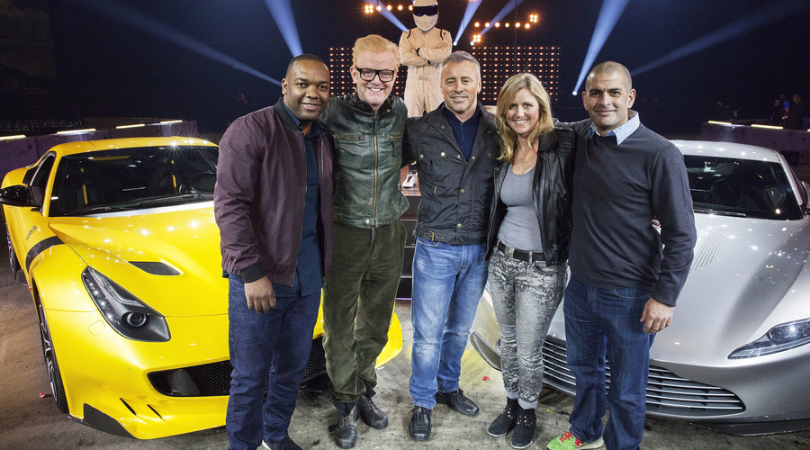 Top Gear, Chris Evans, Matt le Blanc,
