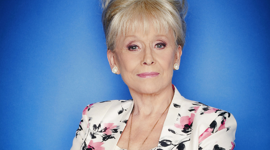 Eastenders star Barbara Windsor (Credit: BBC/Nicky Johnston)