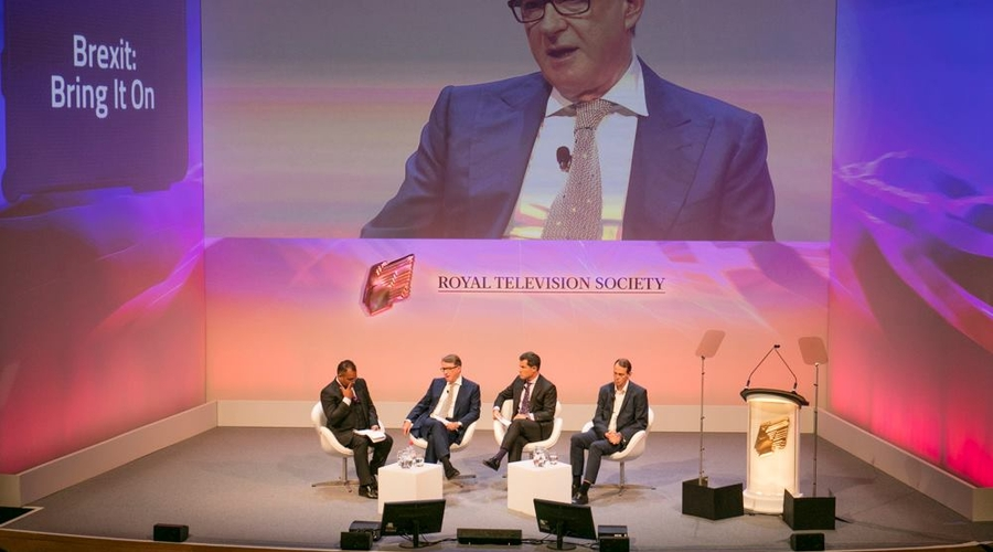 'Brexit Bring It On' at the London Conference (Credit: Paul Hampartsoumian)