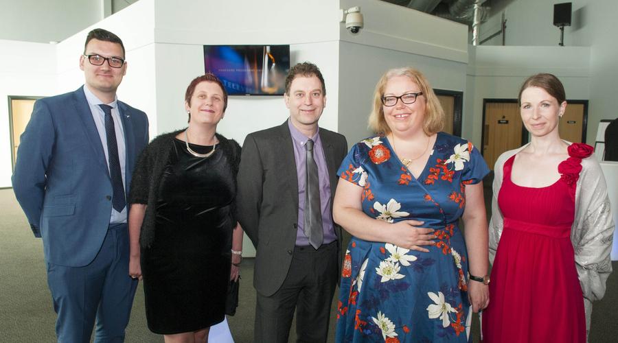 Fettle Animation & Lisa Holdsworth (Awards Chair)