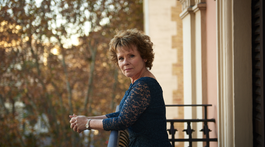 Imelda Staunton previously starred in Finding Your Feed (Credit: Sky Cinema/Entertainment One)