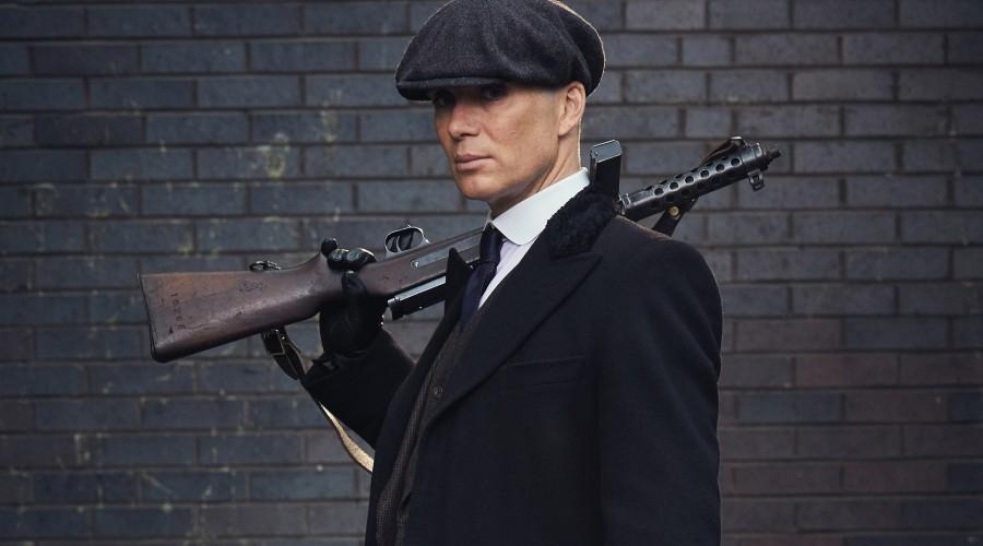 Cillian Murphy in Peaky Blinders (Credit: BBC)