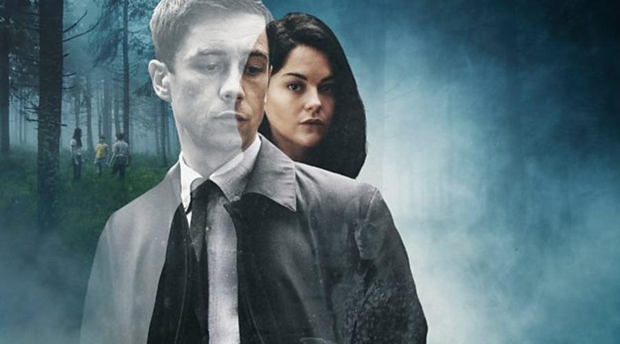 Killian Scott and Sarah Greene star in Dublin Murders (Credit: BBC)