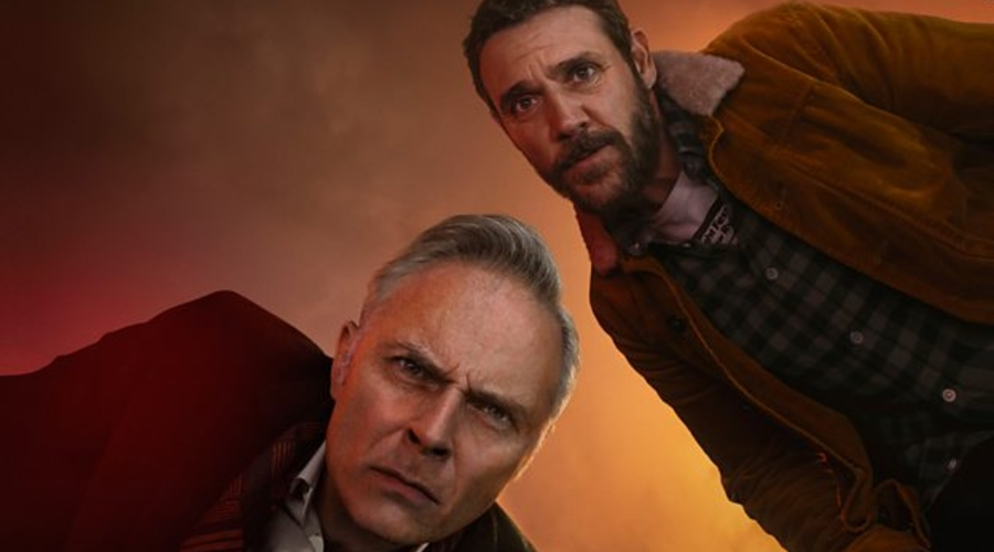 Mark Bonnar and Jamie Sives in Guilt (credit: BBC)