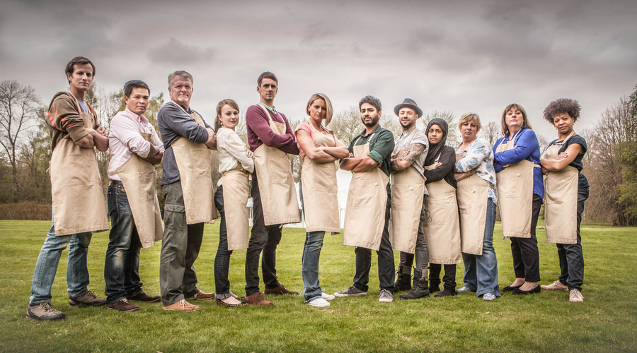 The Great British Bake Off contestants 2015