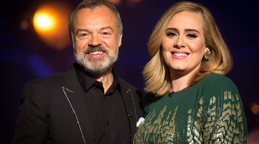 Graham Norton and Adele (Credit: BBC)