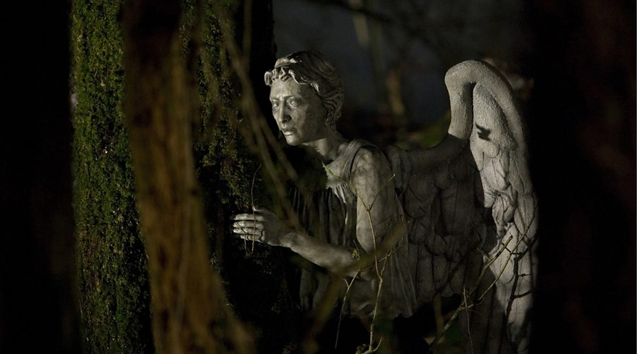 A Weeping Angel (Credit: BBC)