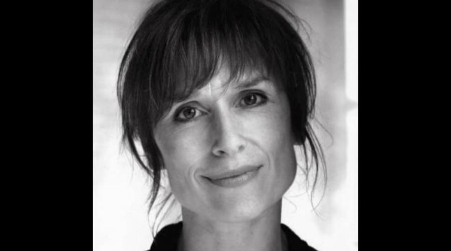 Writer Amelia Bullmore (Credit: UKTV)