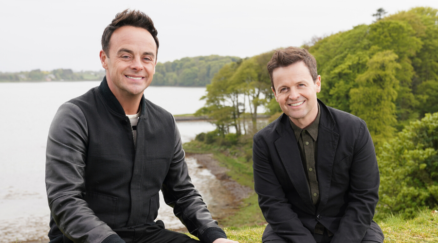 Ant and Dec in Ant & Dec's DNA Journey (Credit: ITV/Voltage TV/Mitre Television)