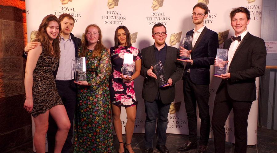 RTS Scotland Student Awards winners