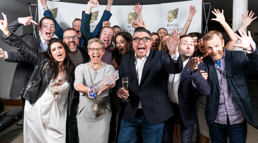 Daytime winners 2018 STV Five Live Team