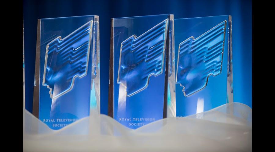 RTS Scotland Awards trophies
