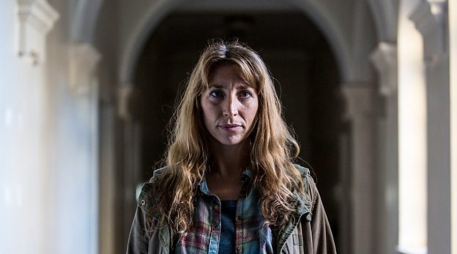 Daisy Haggard in Back to Life (credit: BBC)