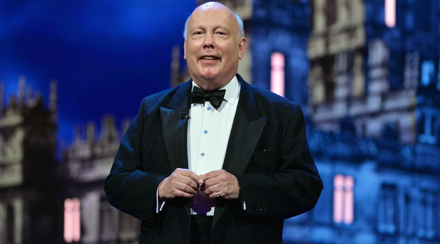Julian Fellowes (Credit: ITV/Kieron McCarron)