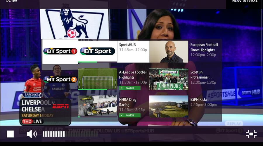 BT, TV, Children's TV, App, UKTV, Sony