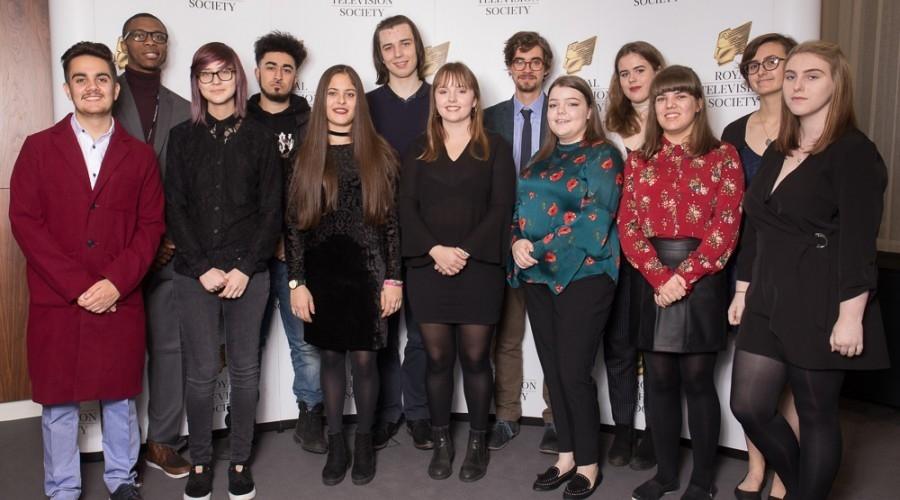 The 2017 RTS Bursary Students (Credit: Paul Hampartsoumian)