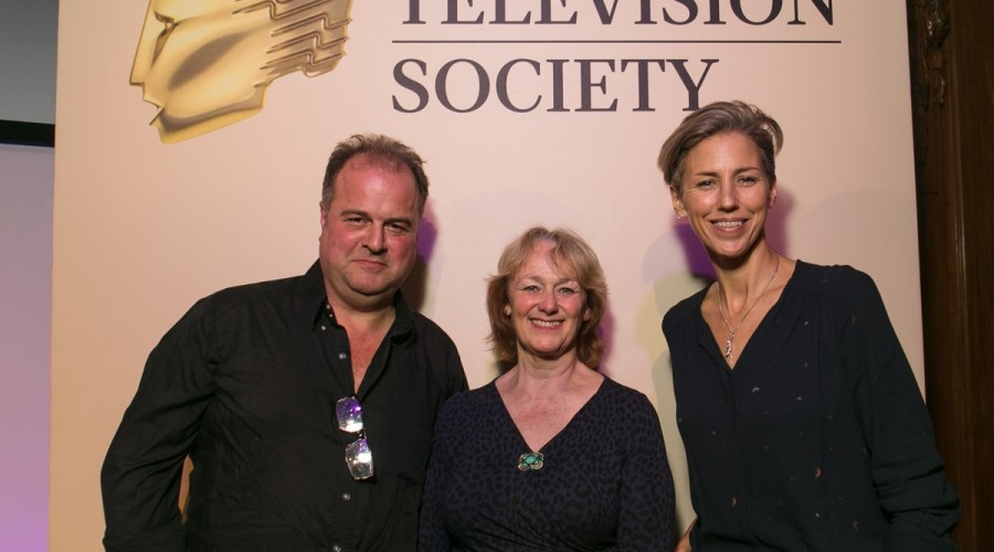 Christopher Titus King, Helen Scott and Sophie Darlington (Credit: RTS/Paul Hampartsoumian)