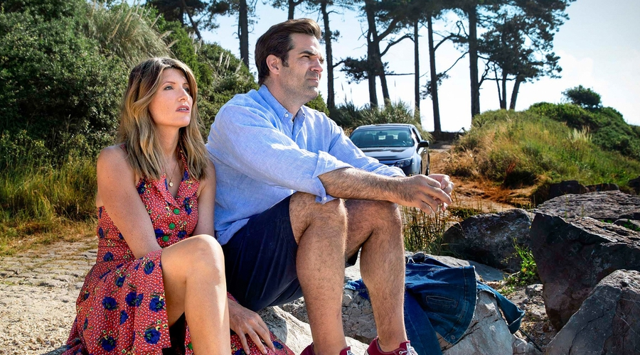 Sharon Horgan and Rob Delaney in Catastrophe (credit: Channel 4)