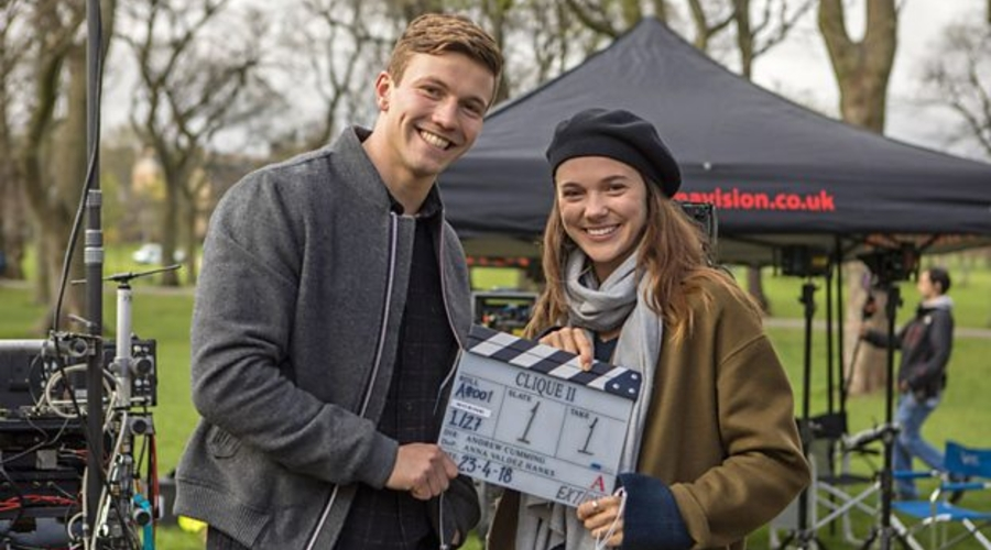 Second series of BBC Three thriller Clique begins filming