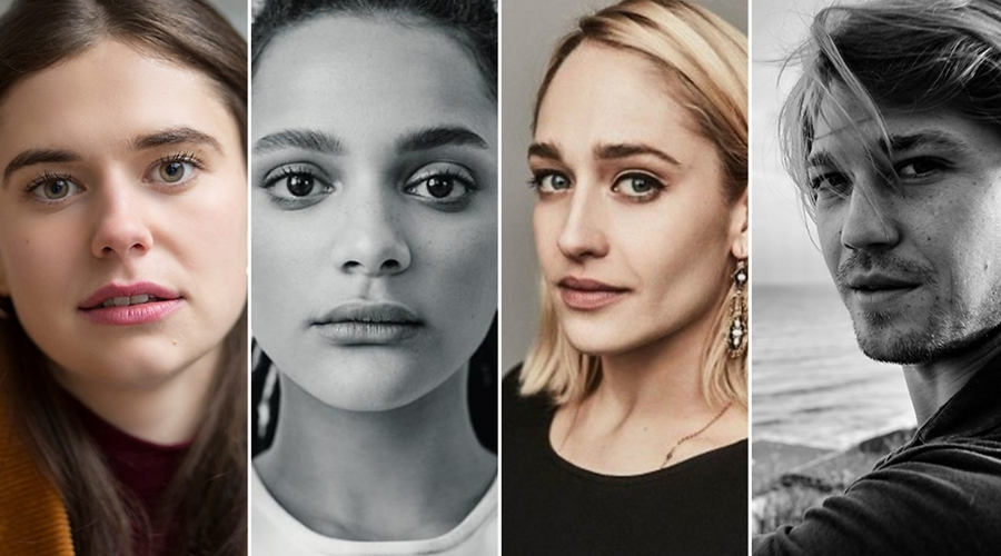 Alison Oliver, Sasha Lane, Jemima Kirke, Joe Alwyn (credit: BBC)