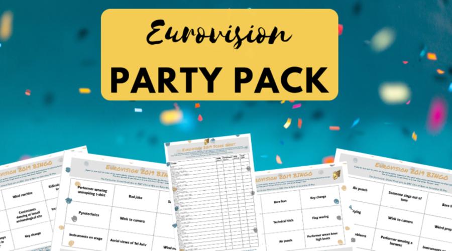 Rts Eurovision Party Pack 2019 Royal Television Society