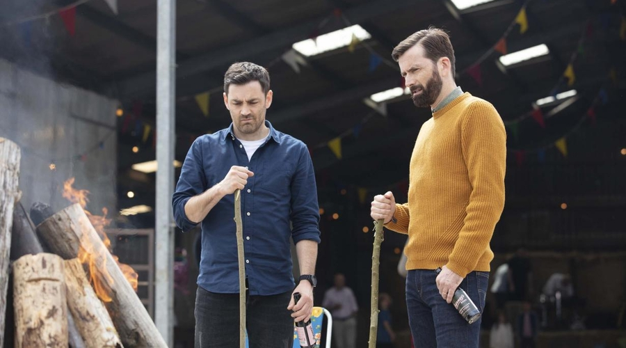 Matthew McNulty and David Tennant (credit: Channel 4)