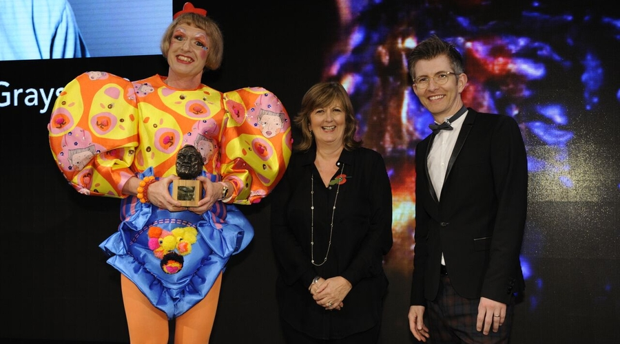 Grayson Perry at the Grierson Awards