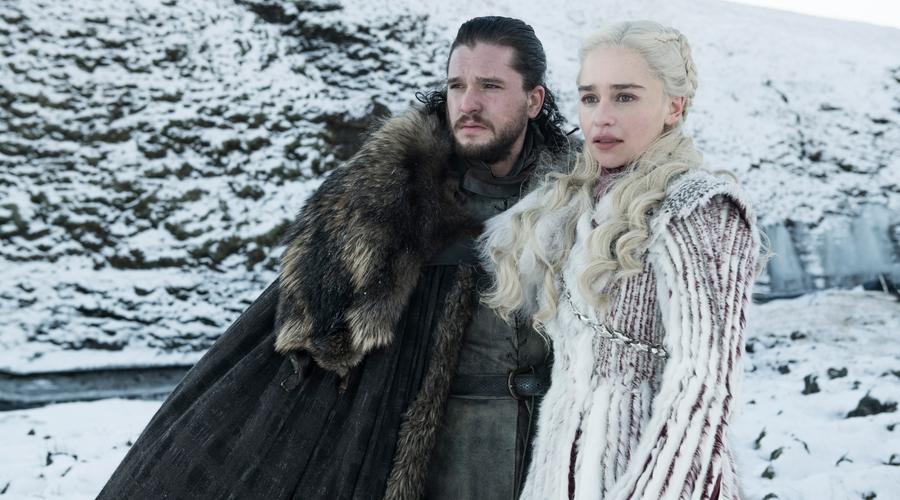 Jon Snow (Kit Harington) & Daenerys Targaryen (Emilia Clarke) (Credit: Sky/HBO)
