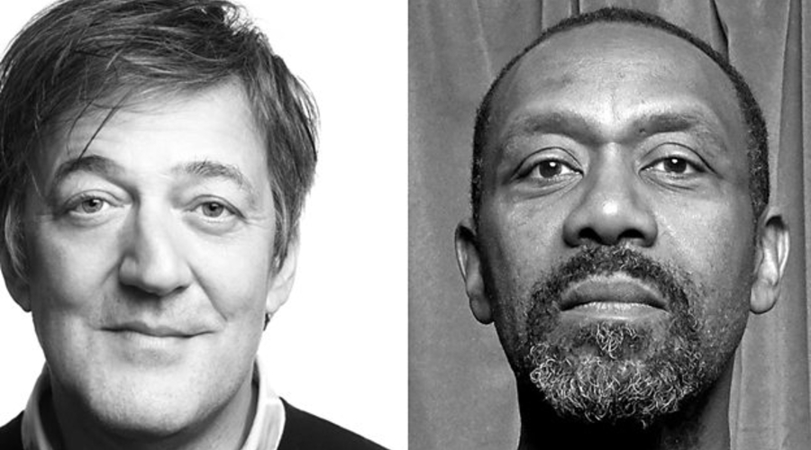Stephen Fry and Sir Lenny Henry (credit: BBC)
