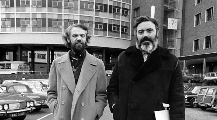 Galton and Simpson (credit: BBC)