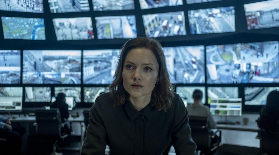 Rachel Carey (Holliday Grainger) in The Capture (Credit: BBC/NBCUniversal)