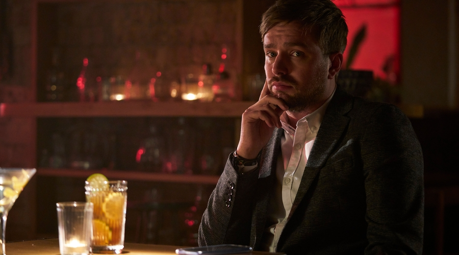 Iain Stirling as Iain in Buffering (credit: ITV 2)
