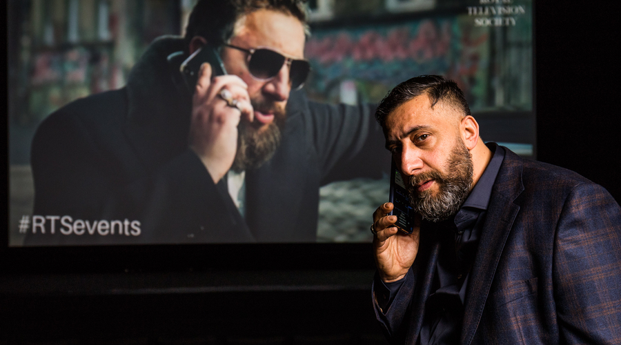 """Kida Khodr Ramadan (Ali """"Toni"""" Hamady) at the screening (Credit: Paul Hampartsoumian)"""