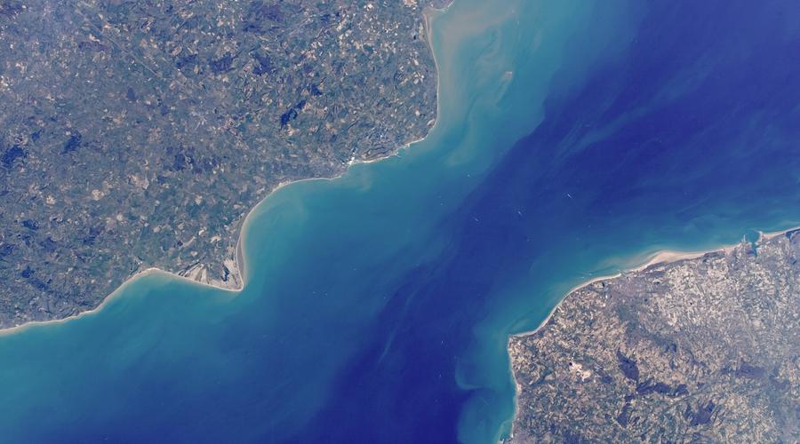 The English Channel (Credit: Julian Herzog/Wikimedia)