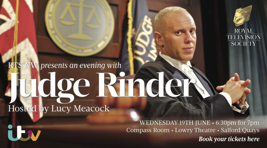 An evening with Judge Rinder (Credit: ITV)